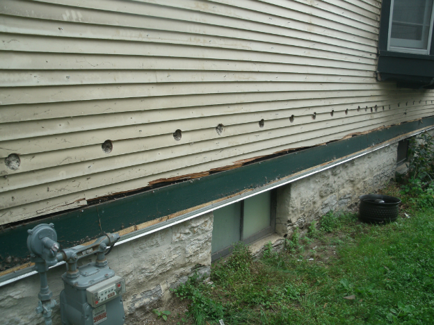 DIY Siding Repair